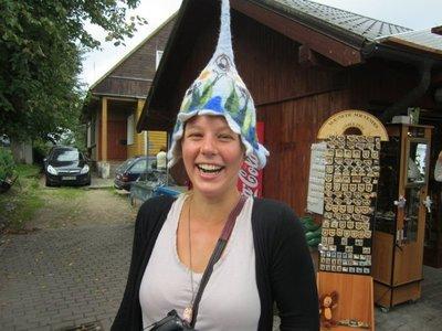 Sauna hat!