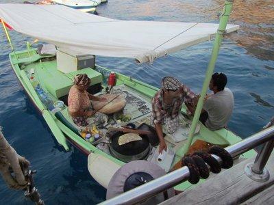 The pancake boat
