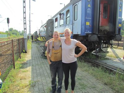 With the train changer