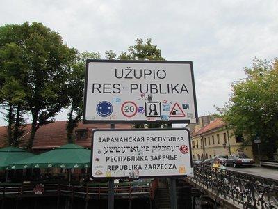 the republic of uzupis