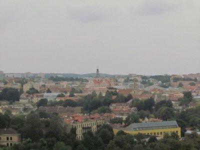 Vilnius in the grey