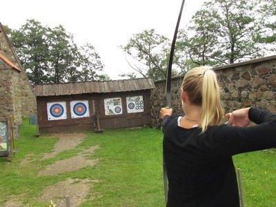 Bow and arrow at Trakai castle