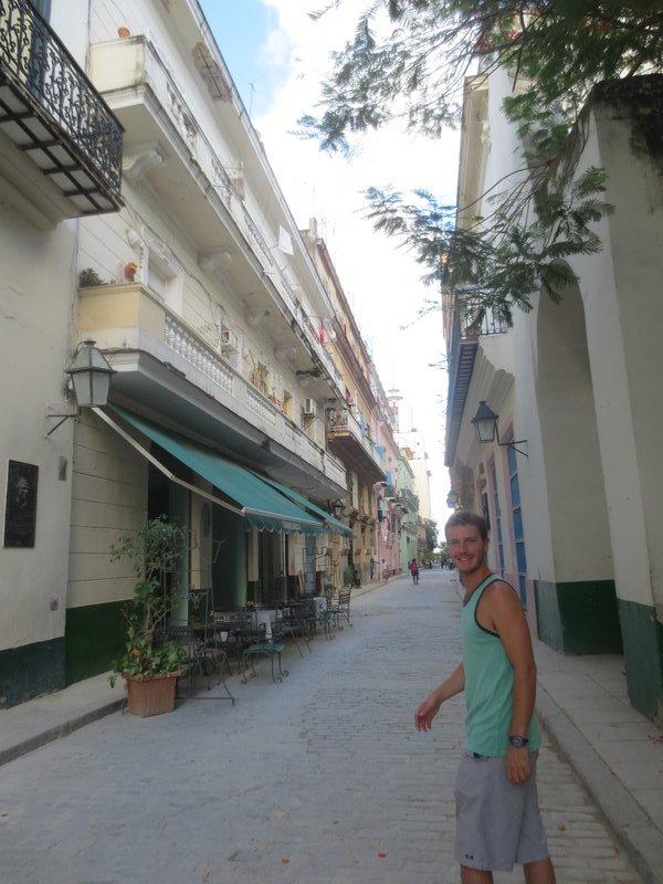 Walking around Havana