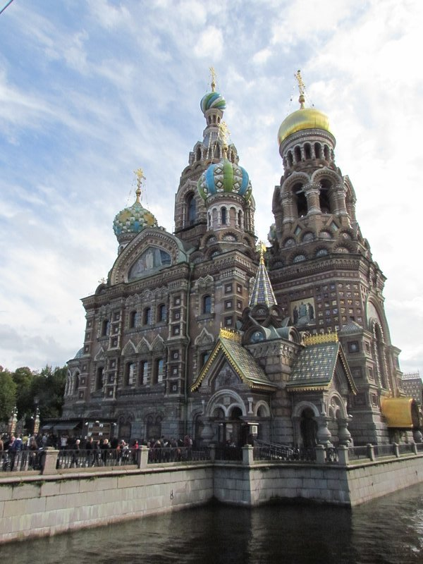 The church of the saviour of the spilled blood