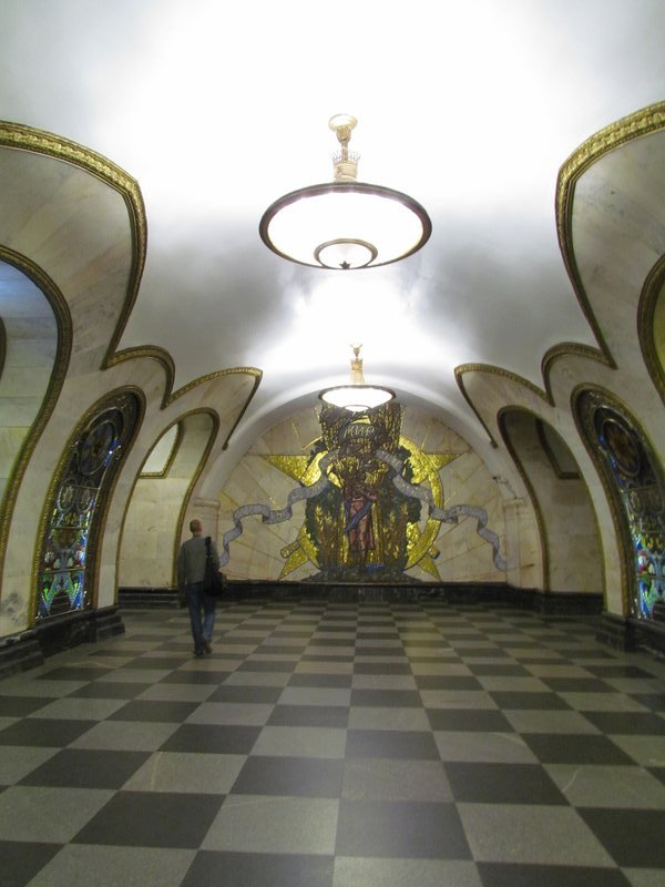 Metro Stations Moscow