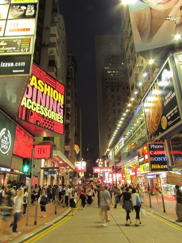 Causeway Bay, Hong Kong - where i stayed