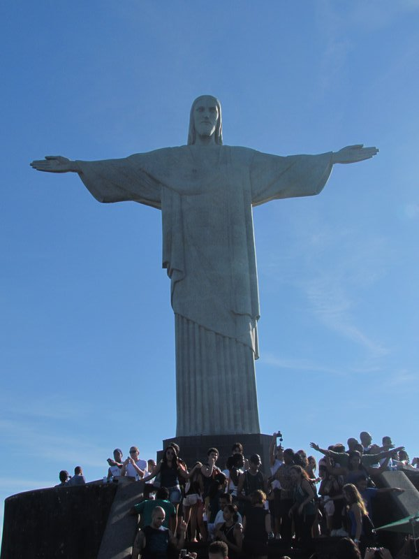 Christ statue....its big
