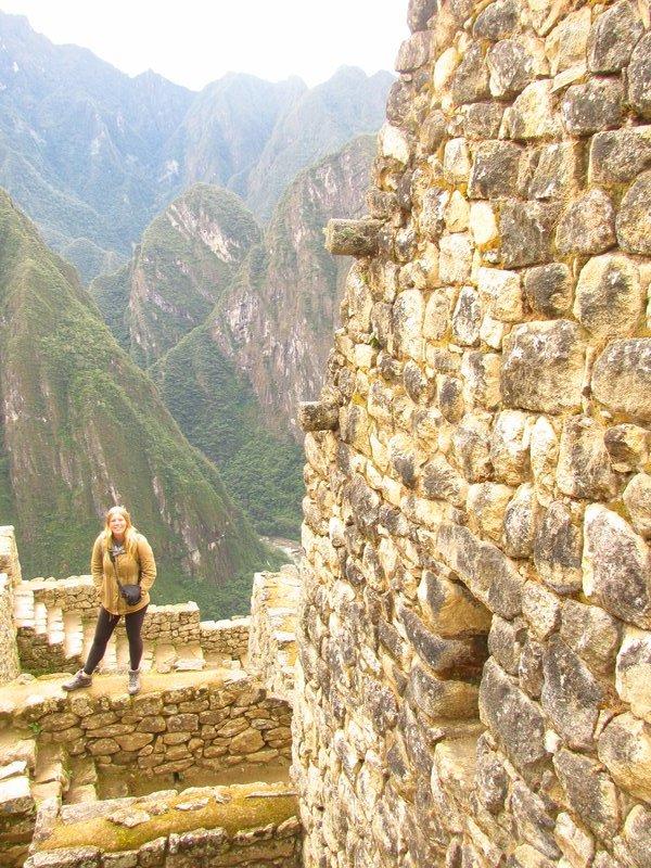 Walking around the stone walls