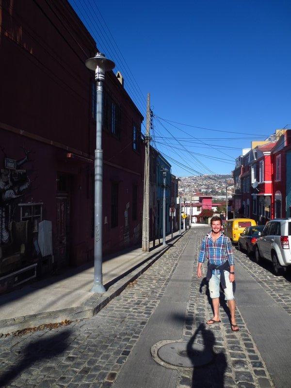Streets and Grafitti of Valparaiso
