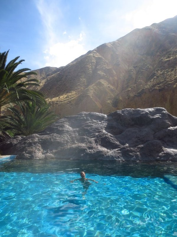 Pool in the oasis