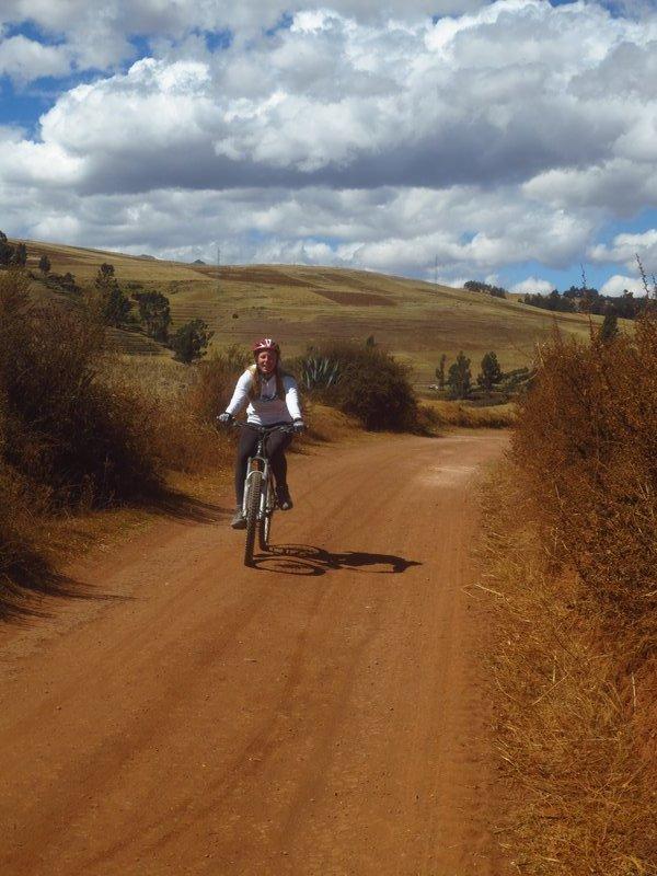Cycling to moray