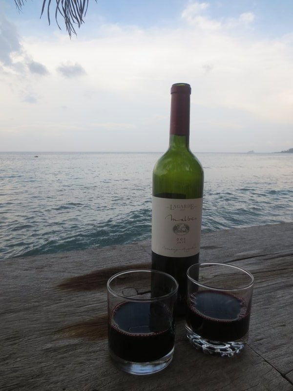 Perfect spot for a bottle of wine