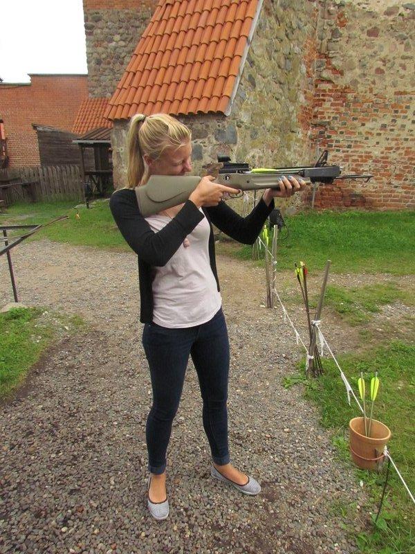 Crossbows at Trakai castle
