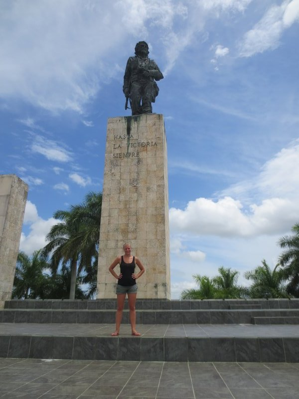 At the Che museum