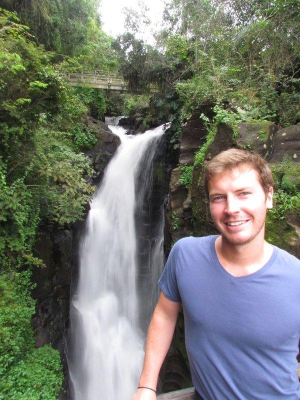 bridges over the waterfalls
