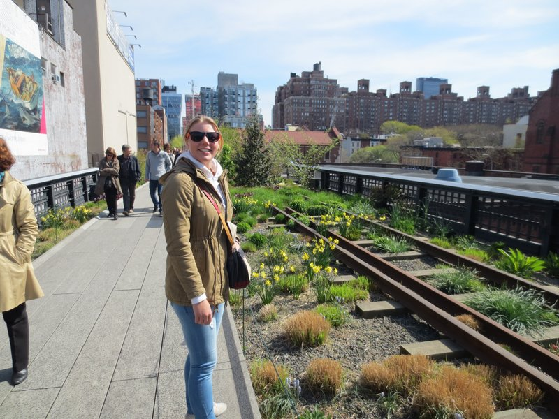 Anna at the High Line