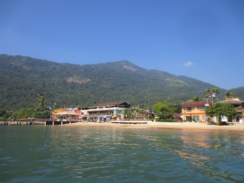 Ville do Abraao - the main town of Ilha Grande