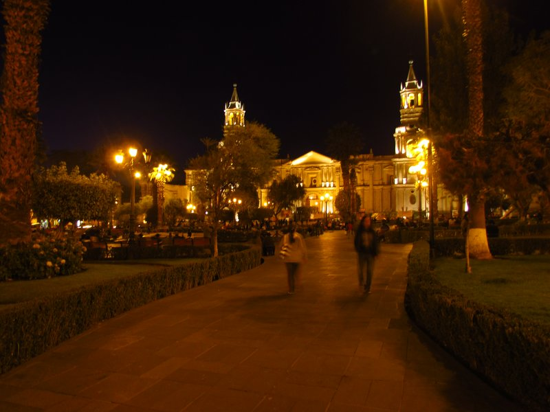 The main square of Arequipa