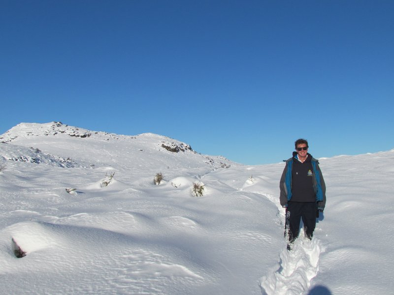 Snowbashing our path through