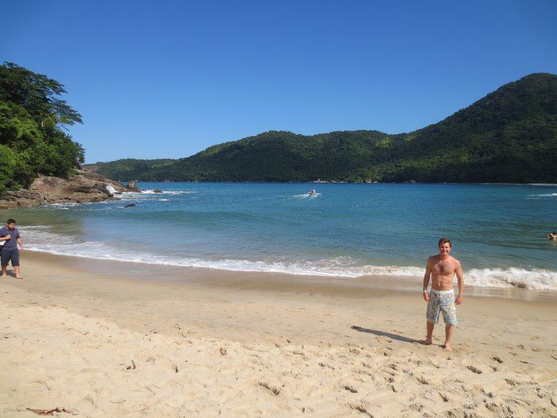 Another gorgeous beach at trindade