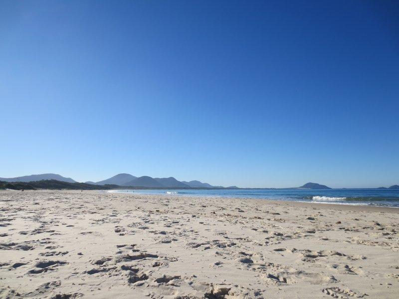 Barra de Lagoa beach