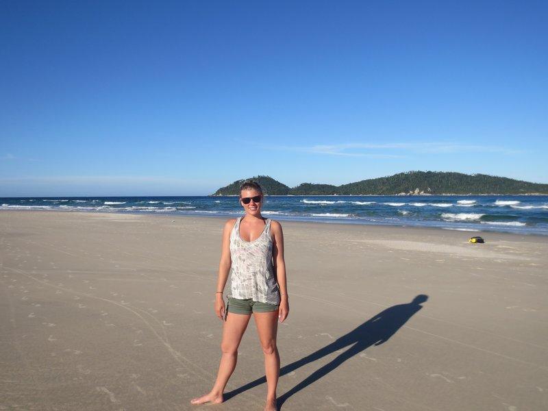 At campeche beach