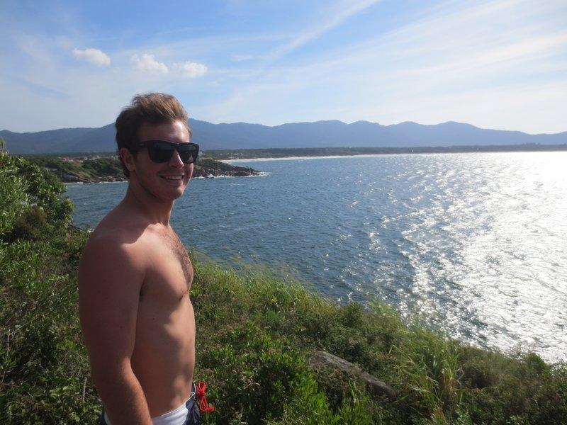 looking out over barra de lagoa