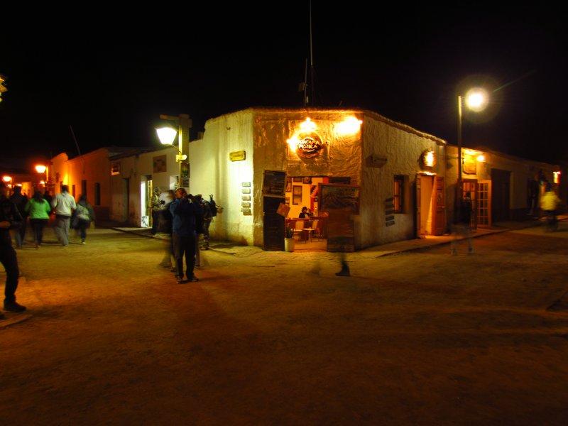 The town of San Pedro de Atacama
