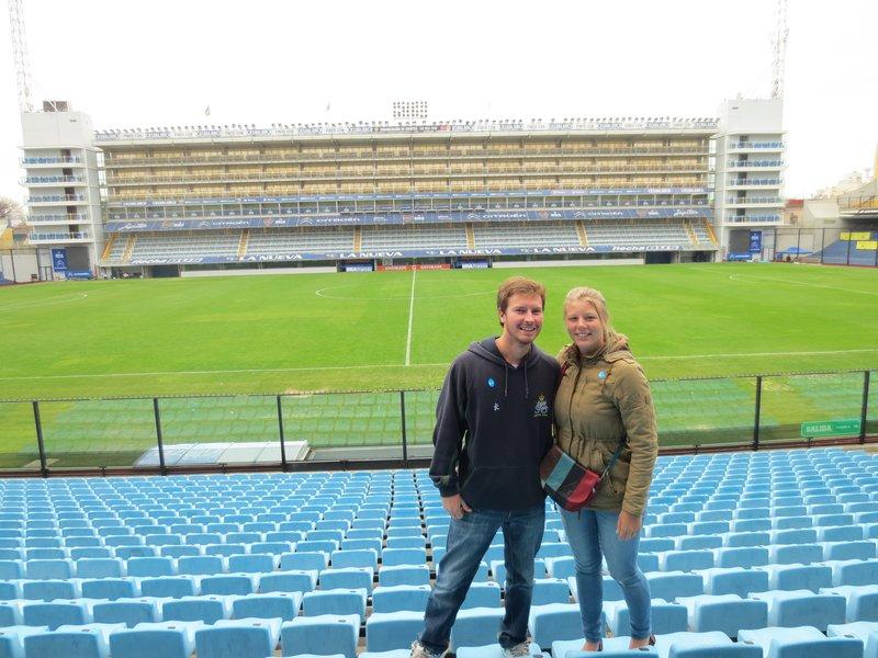 At Boca stadium