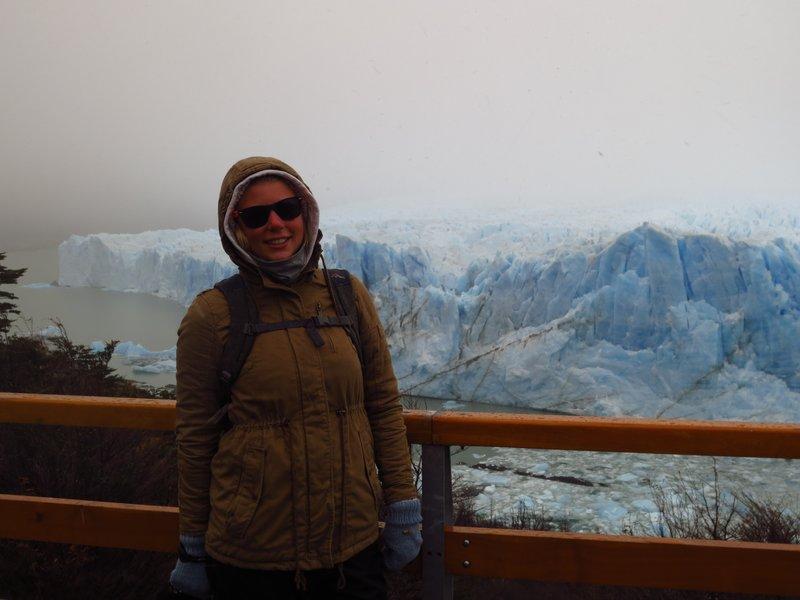 All wrapped up at Perito Moreno