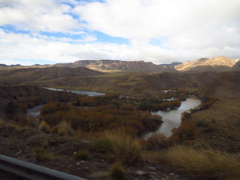 Scenery on the way to Mendoza