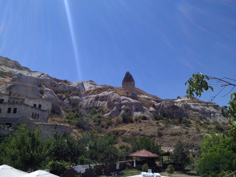 The view from the hostel in Goreme