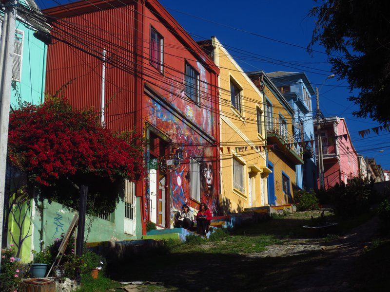 Colours of Valparaiso