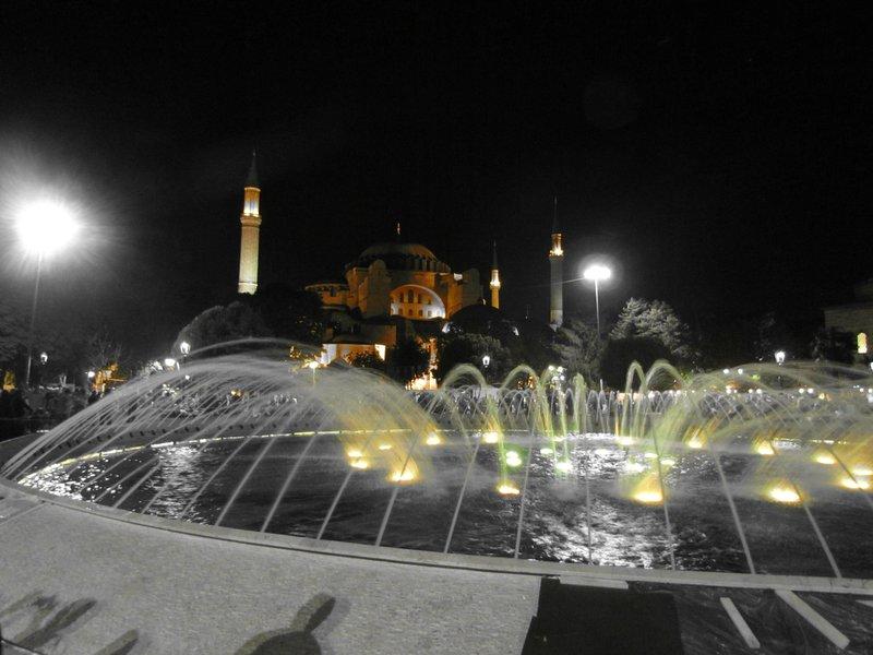 Hagia Sophia during Ramadan celebrations