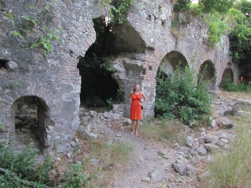 Olympus Roman Ruins