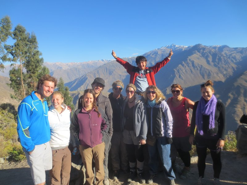 The group at the top