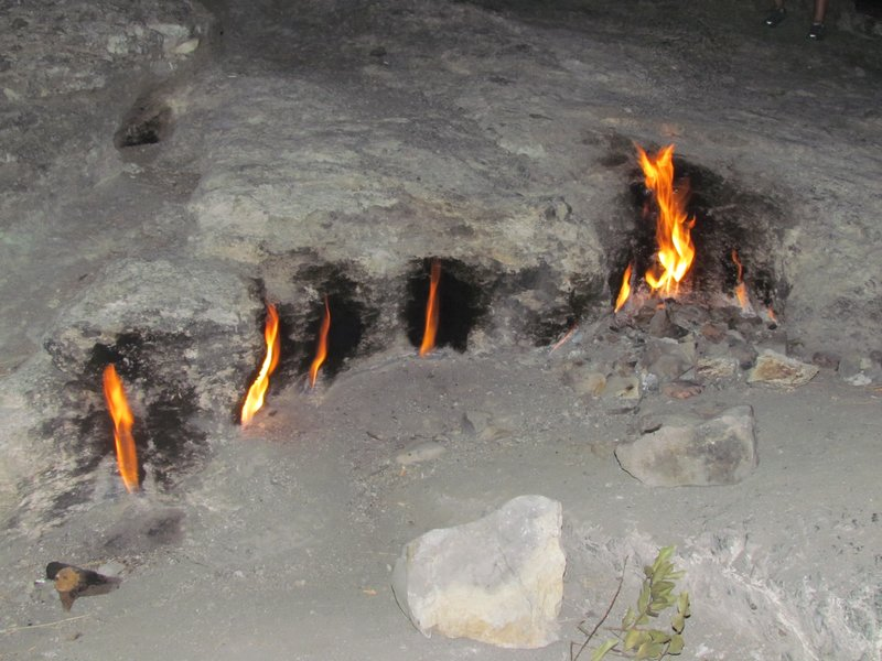 Flames mountain