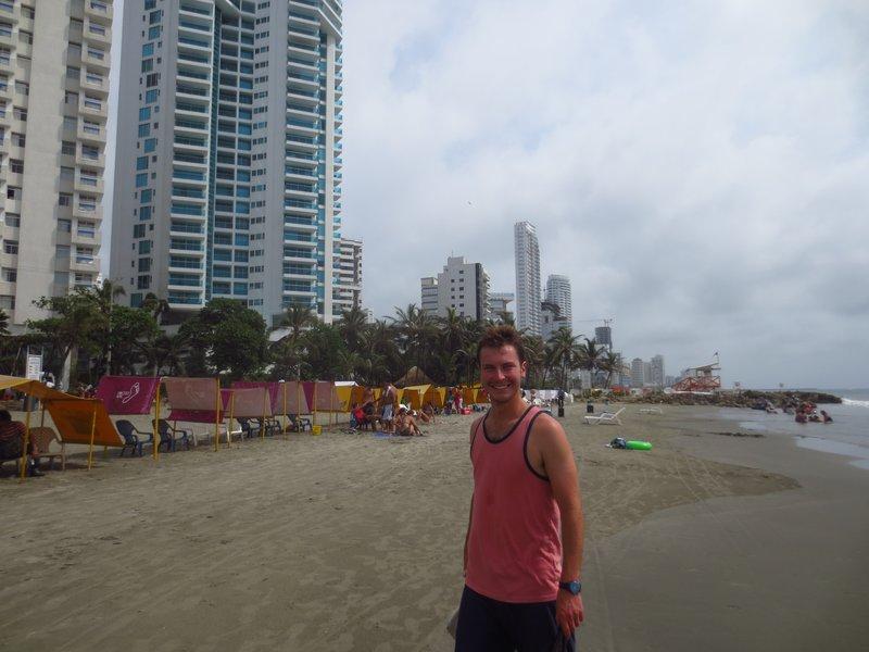 The main beaches of Cartagena