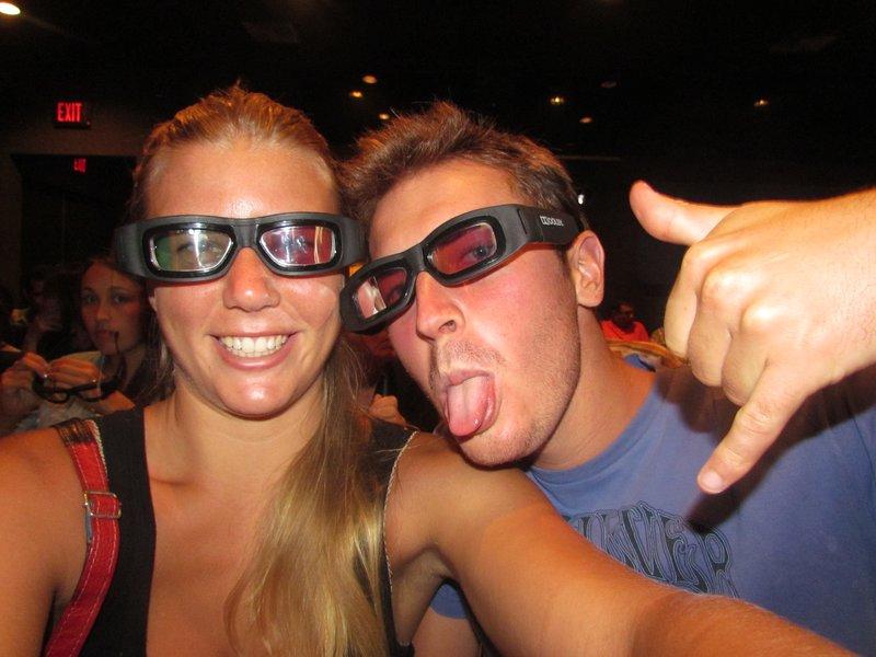 3D glasses!