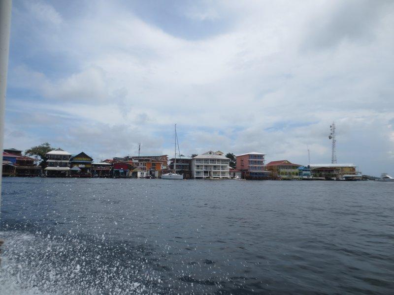 Bocas from the boat