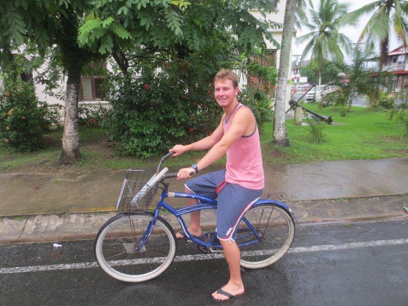 Riding our bikes!