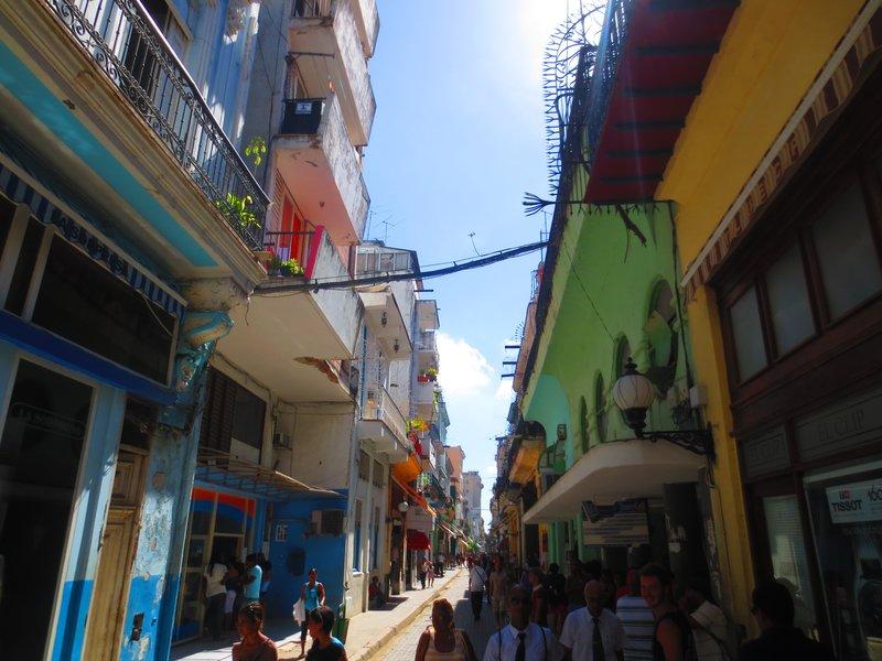 The main street of Havana