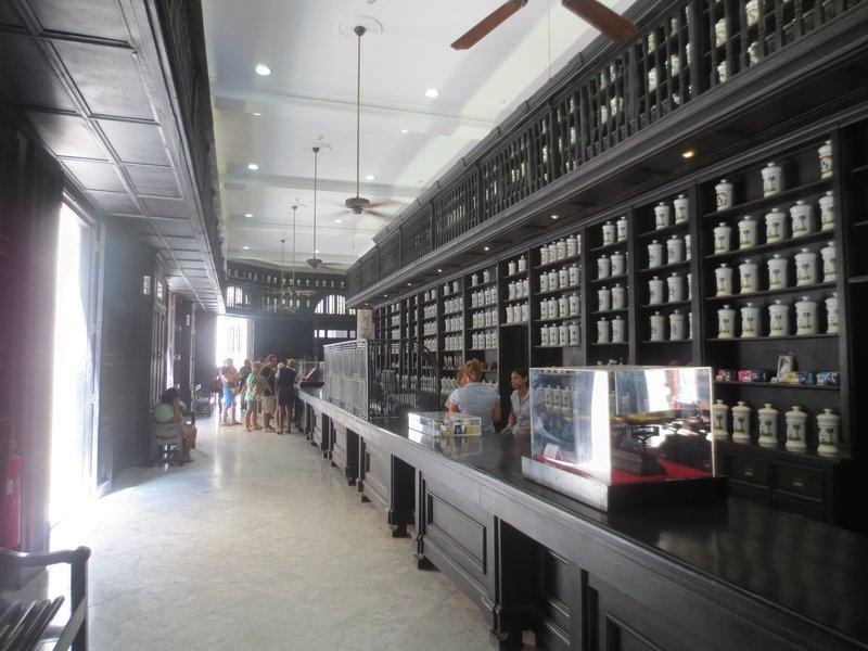 A still used pharmacy in Havana