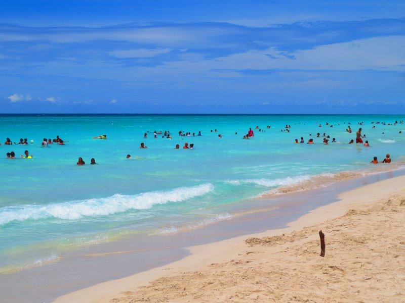 the gorgeous Varadero beach
