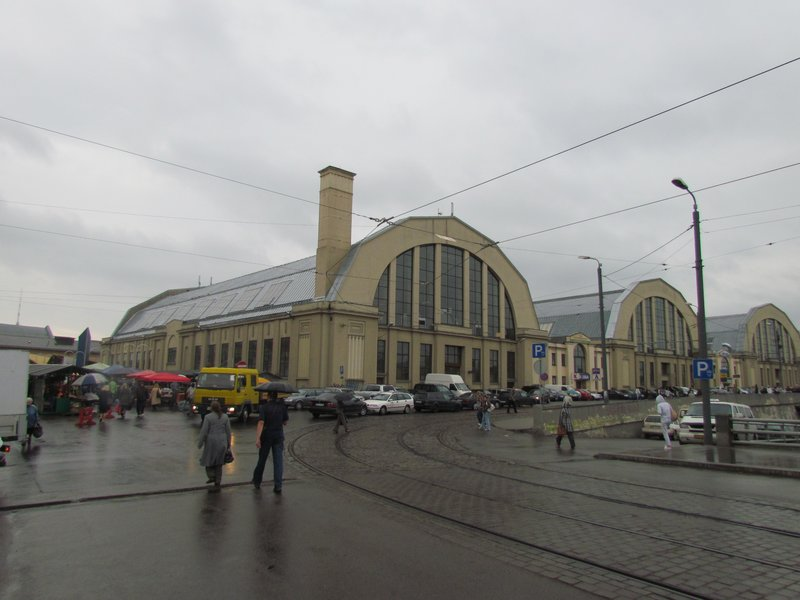 Riga central markets