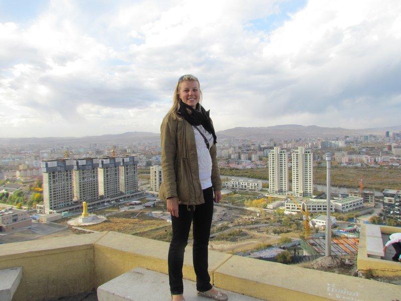 The view of Ulaanbaatar