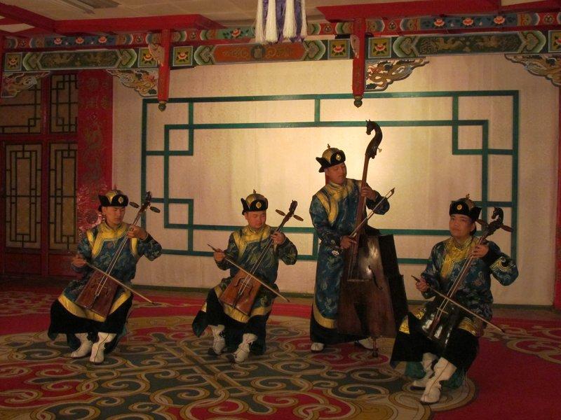 Mongolian cultural show