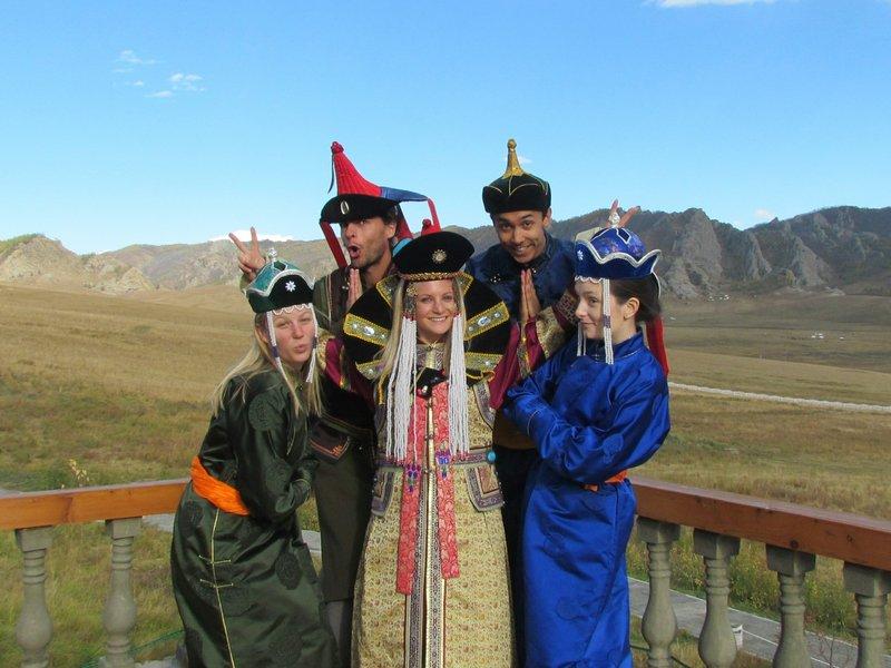 Mongolian outfits