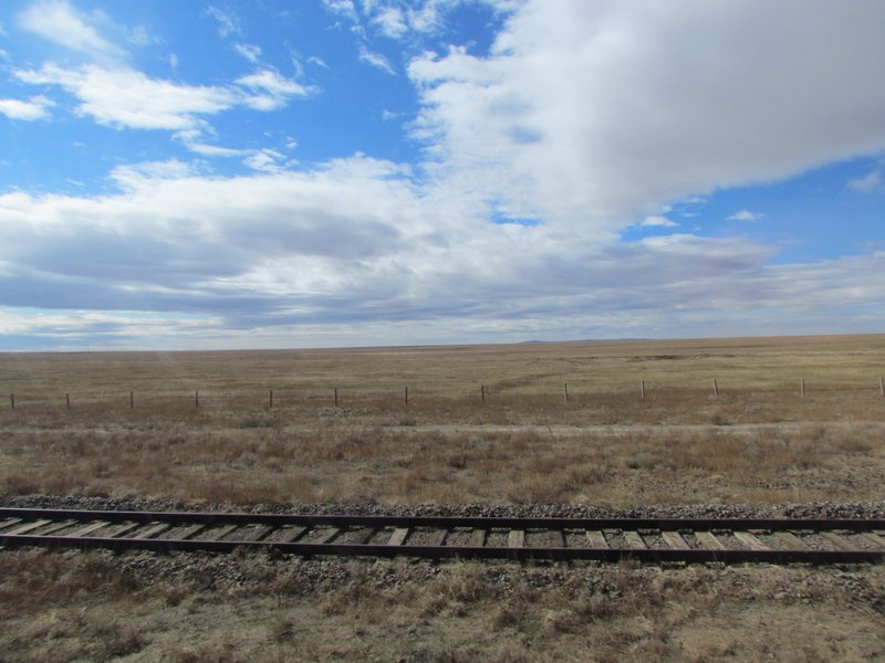Mongolia from the train