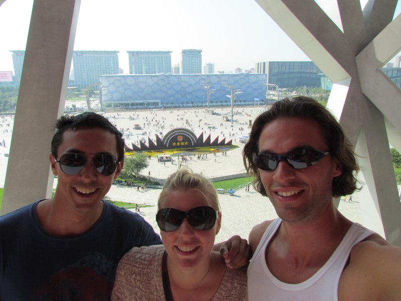 Steve, Roel and I at the Olympic park